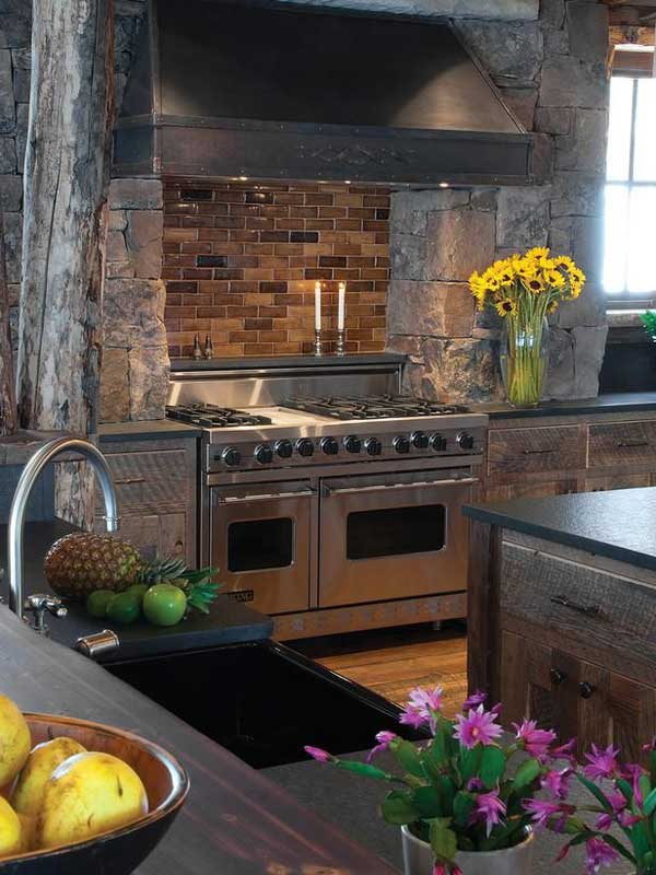 20 Stunning Stone Kitchen Ideas Bring Natural Feel Into Modern Homes Architecture Amp Design