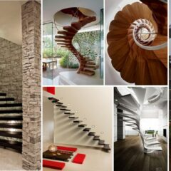 20+ Magnificent Floating Staircases For An Elegant Interior
