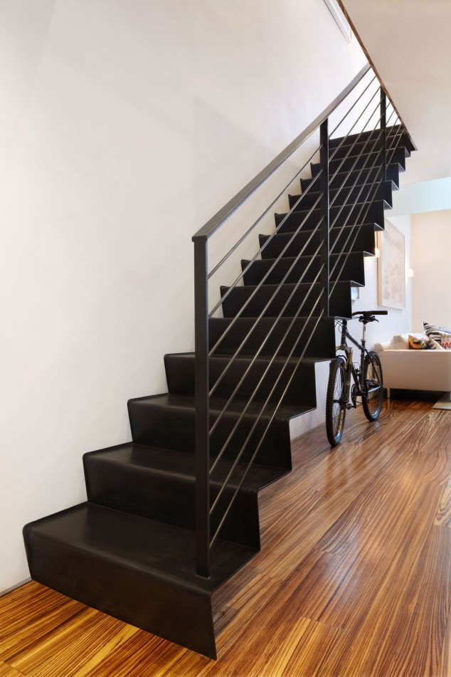 AD Sleek Floating Staircases 9