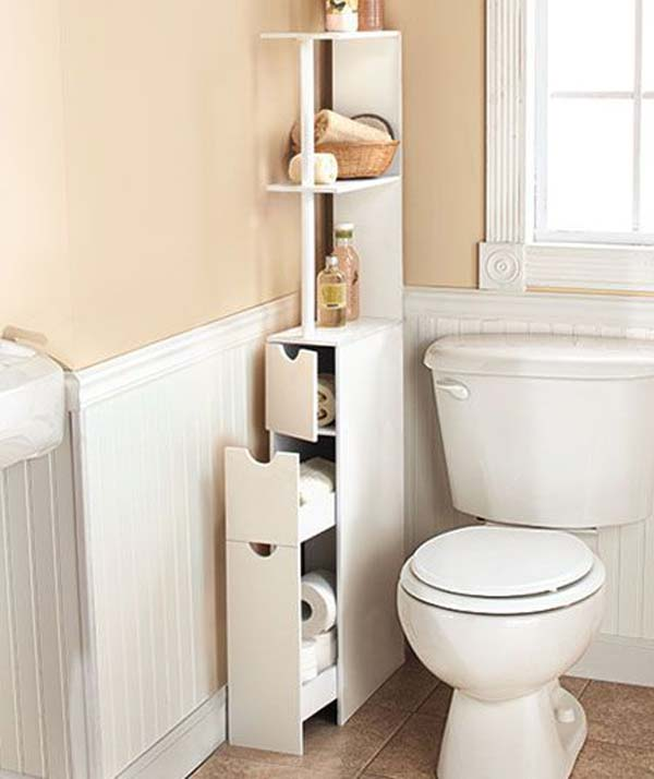 Charming AD Storage Hacks In Bathroom 2