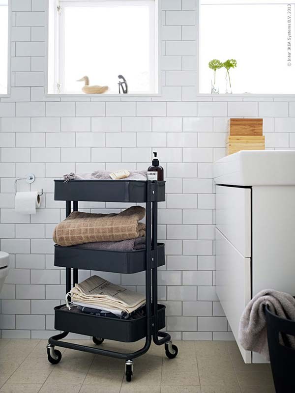 30+ Amazingly DIY Small Bathroom Storage Hacks Help You Store More ...