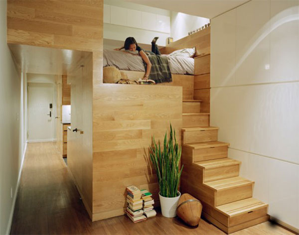 10-AD-500 sq ft apartment with ingenious storage solutions