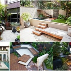 15 Totally Unique Ways To Design Your Courtyard