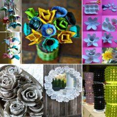 30 Recycling Egg Cartons Craft Ideas