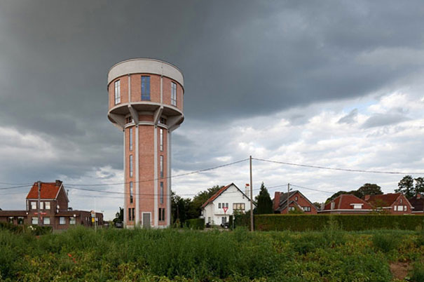 4-AD-Old Water Tower Turned Into Modern Home, Belgium-01