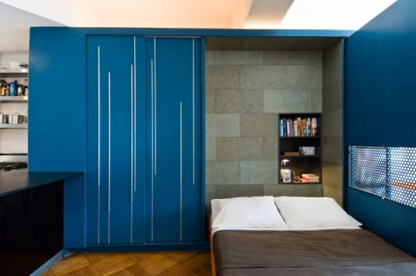 9-AD-450 sq ft Manhattan apartment with a hidden bed-2
