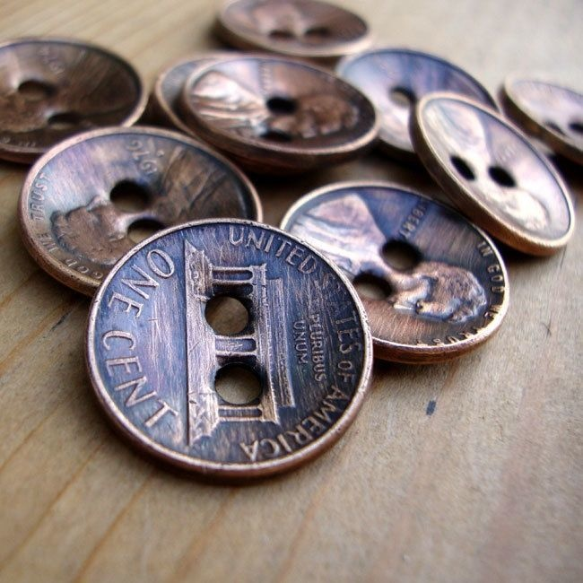 how to make old coins