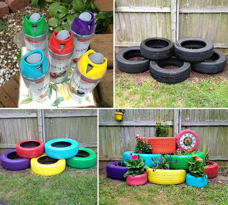 ad creative diy gardening ideas with recycled items - Diy Garden Ideas