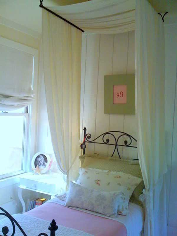 AD-DIY-Bed-Canopy-13 & 20 Magical DIY Bed Canopy Ideas Will Make You Sleep Romantic ...