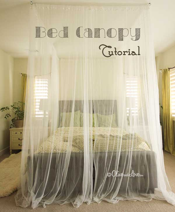 Ad Diy Bed Canopy 15