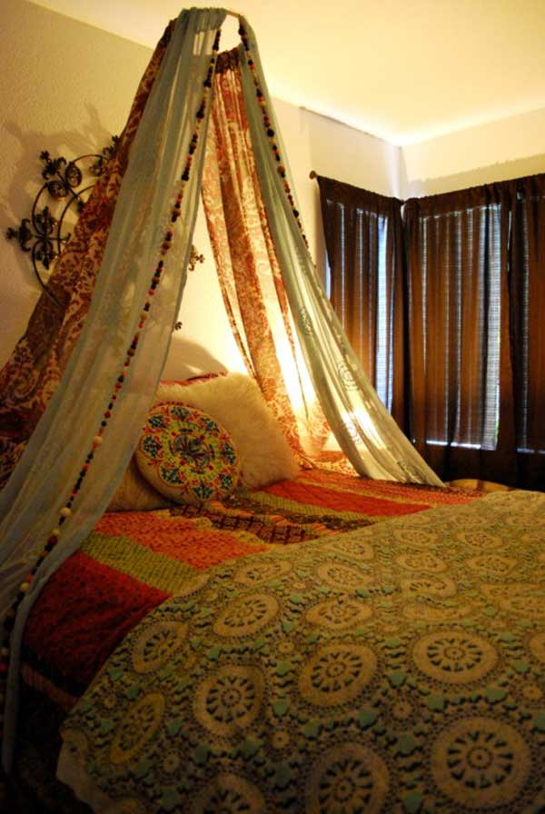 20 Magical DIY Bed Canopy Ideas Will Make You Sleep Romantic : Architecture u0026 Design