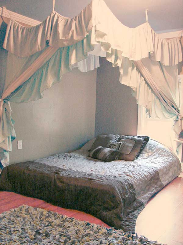 AD-DIY-Bed-Canopy-20 & 20 Magical DIY Bed Canopy Ideas Will Make You Sleep Romantic ...