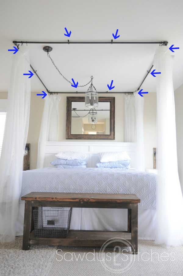 20 Magical Diy Bed Canopy Ideas Will