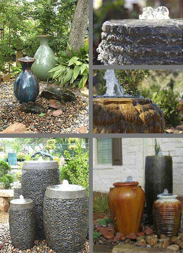 25 diy water features will bring tranquility relaxation for Recirculating water feature