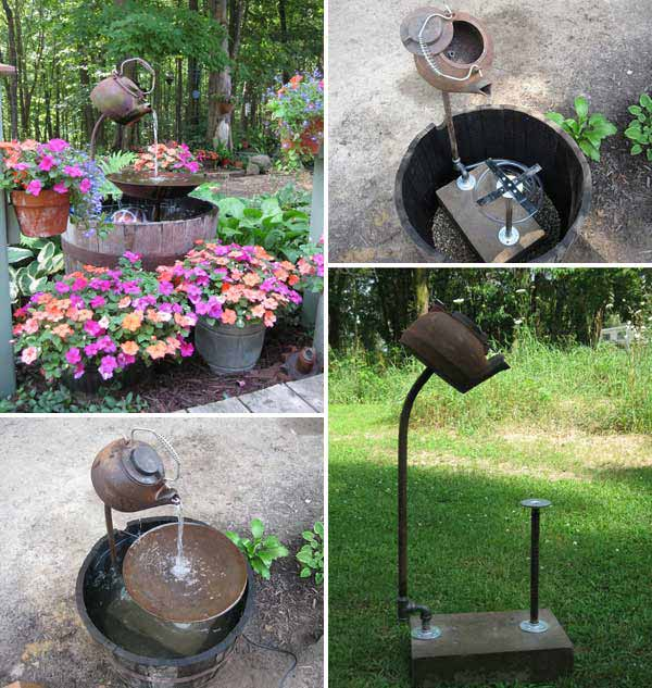 25 diy water features will bring tranquility relaxation Diy wall water feature