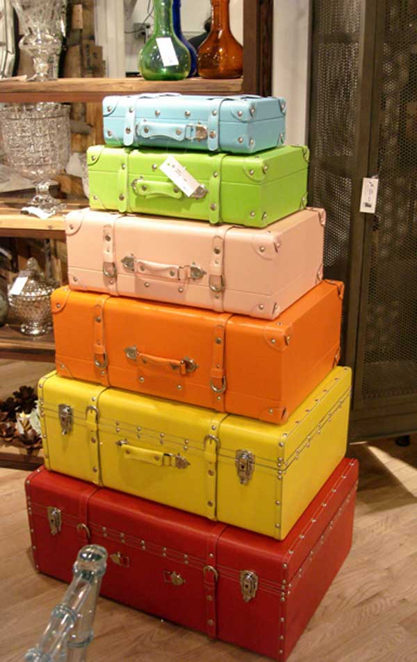 Old Suitcases Part - 20: AD-Old-Suitcases-Decor-1