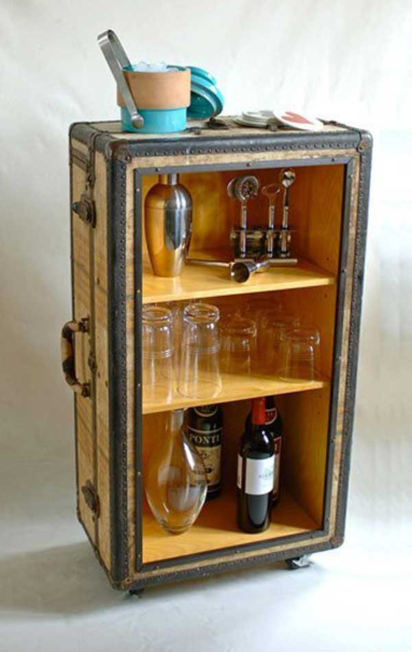 Old Suitcases Part - 39: AD-Old-Suitcases-Decor-17