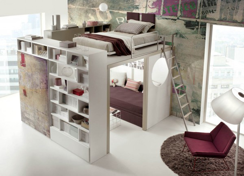 ad space saving beds bedrooms 13 - Ideas For Beds