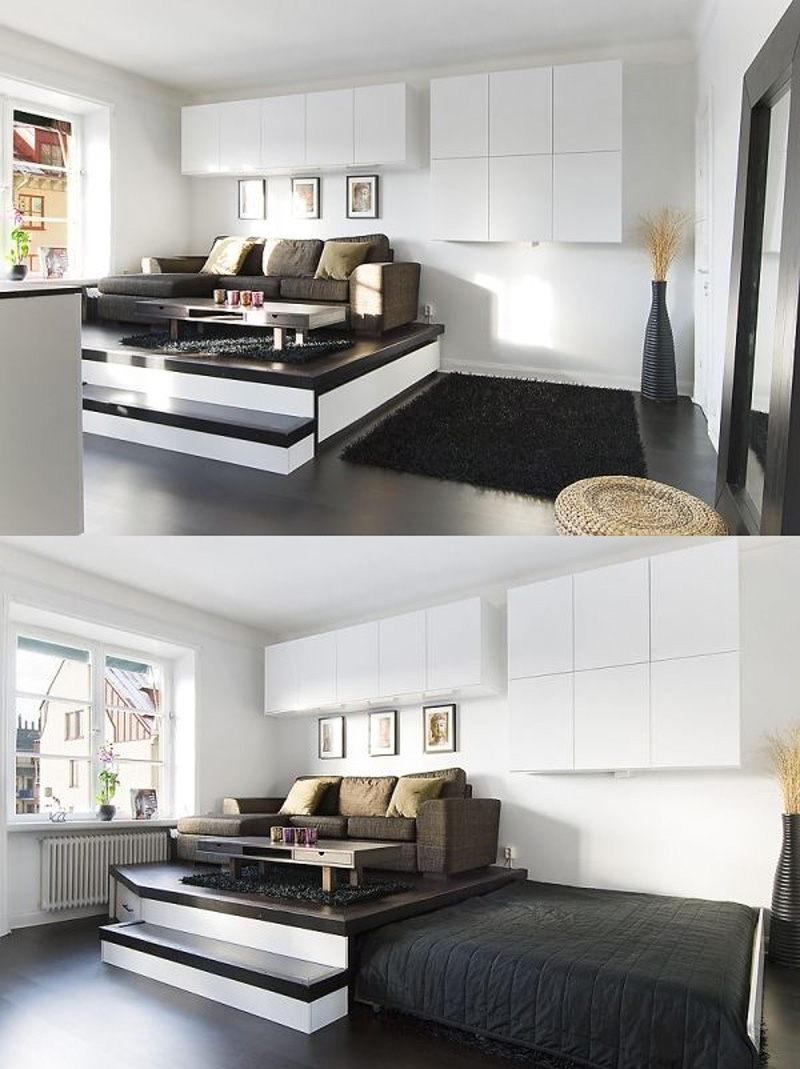 20+ Ideas Of Space Saving Beds For Small Rooms | Architecture \u0026 Design