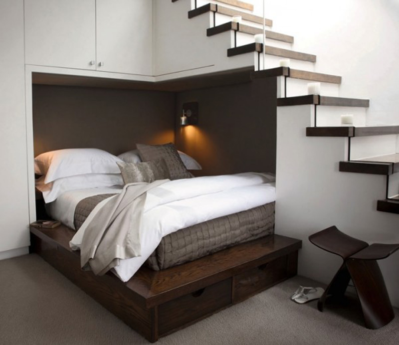 20+ Ideas Of Space Saving Beds For Small Rooms | Architecture & Design
