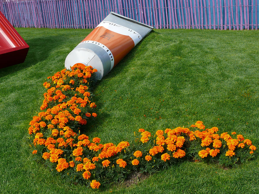 Ad Spilled Flowers Garden Ideas 01