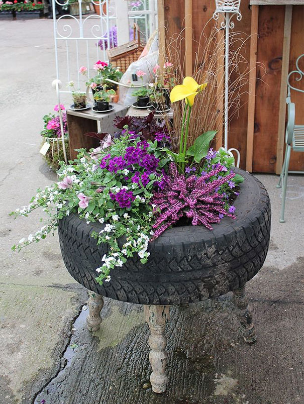 40 Brilliant Ways To Reuse And Recycle Old Tires