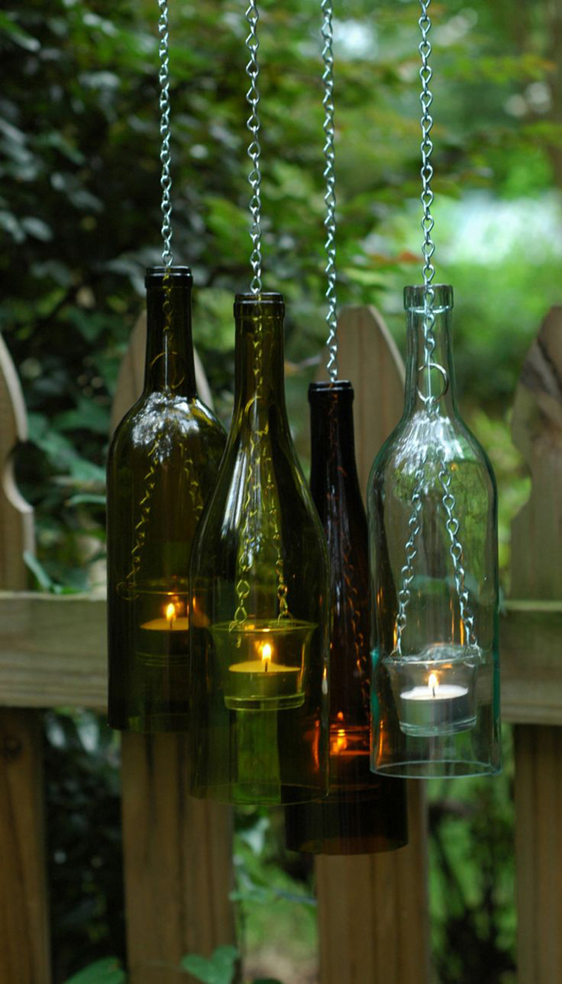 25 Diy Ideas To Recycle Your Old Wine Bottles