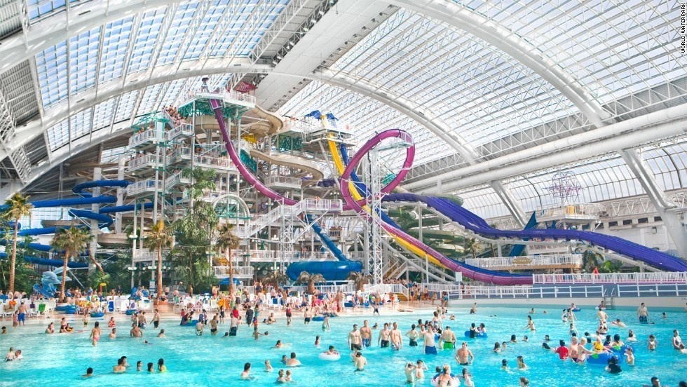 25 of the coolest scariest water slides from around the - Best indoor swimming pools in london ...