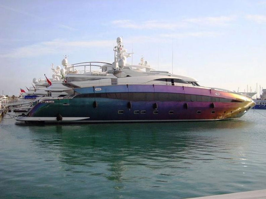Top 20 Most Luxurious Celebrity Yachts – H2O Extreme