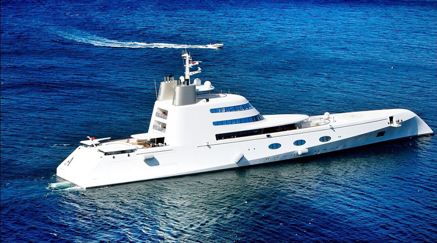 The 10 Most Expensive Yachts Owned by Celebrities