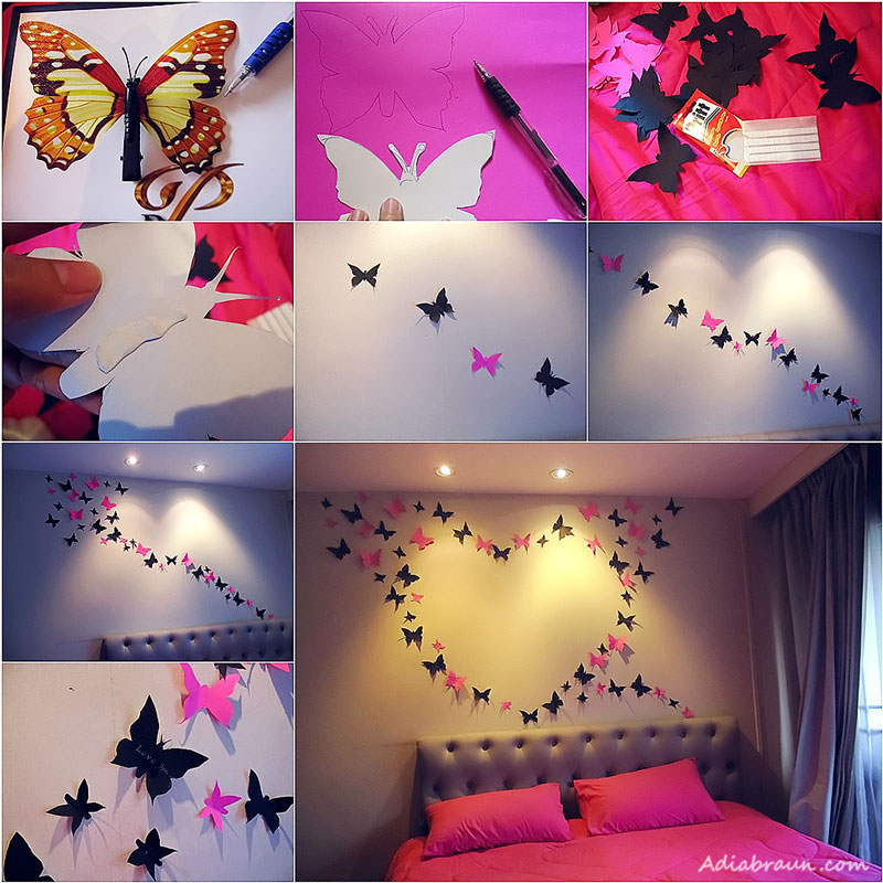 Colorful Diy Butterfly Crafts Projects To Make Your Imagination Flutter Architecture Design,Best White Paint Colors For Walls Sherwin Williams
