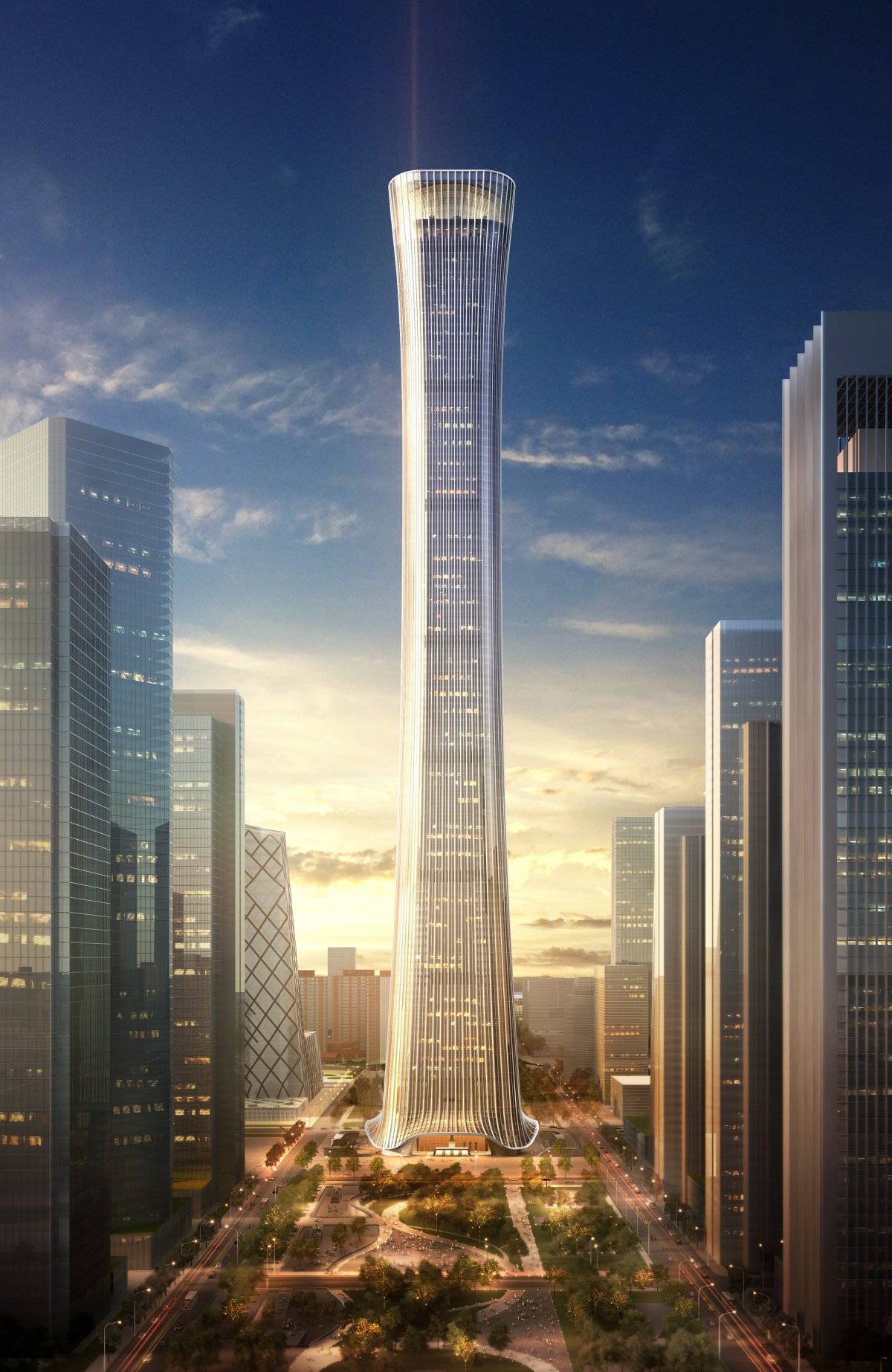 Architecture Future: The 10 Tallest Skyscrapers Of The Future