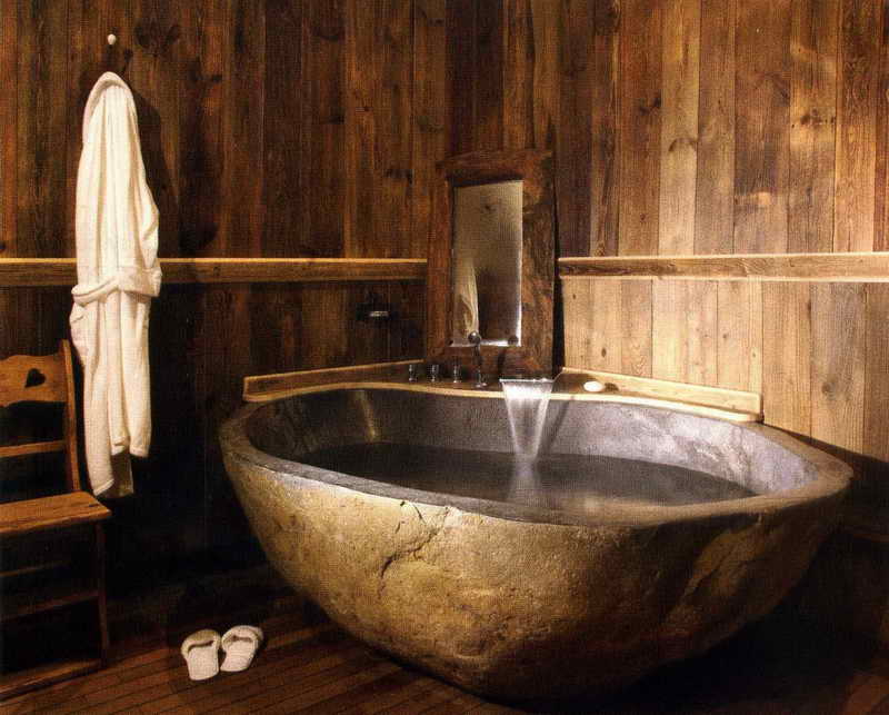 35 exceptional rustic bathroom designs filled with for Design waschtischunterschrank