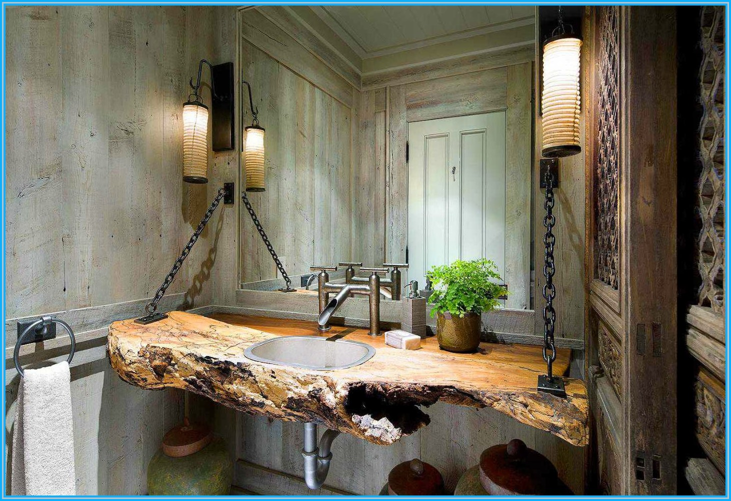 35 exceptional rustic bathroom designs filled with for Wohnung design magazin