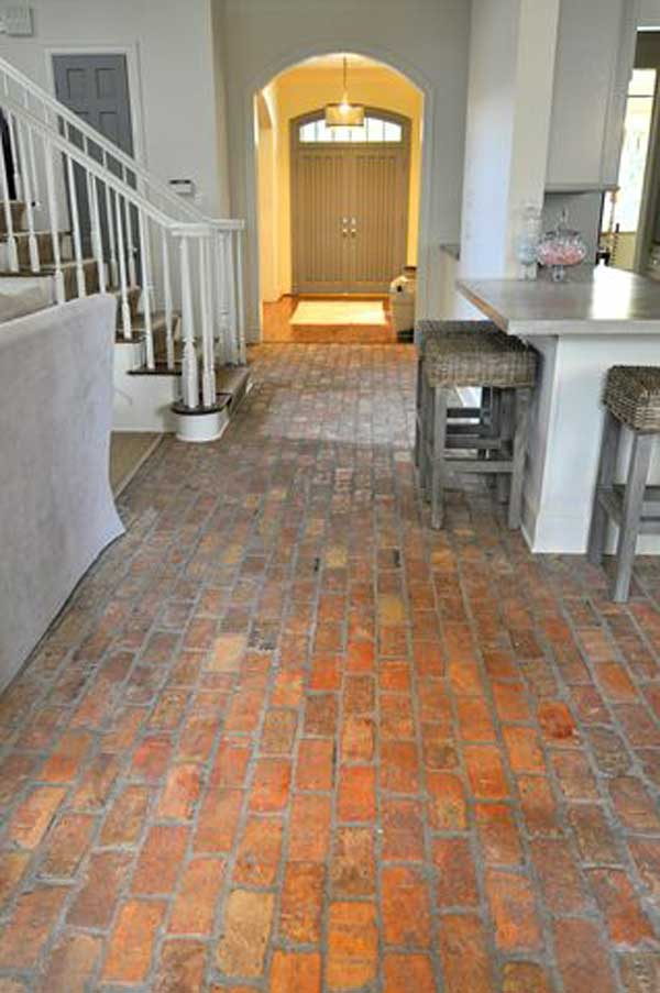 Indoor brick flooring cost gurus floor for Brick flooring prices