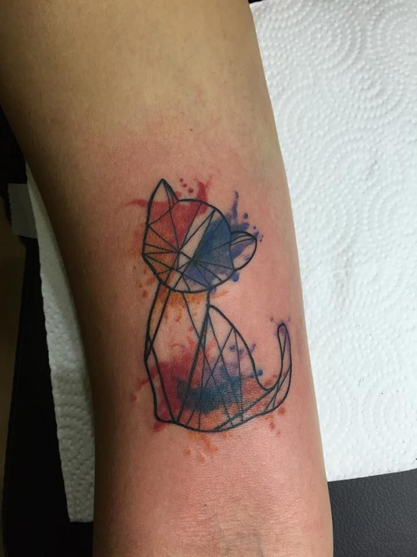 100 Minimalistic Cat Tattoos For Cat Lovers Architecture