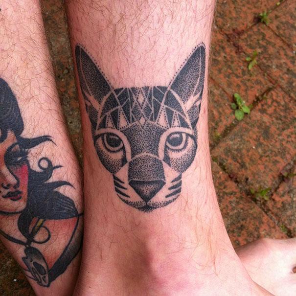 100 Minimalistic Cat Tattoos For Cat Lovers