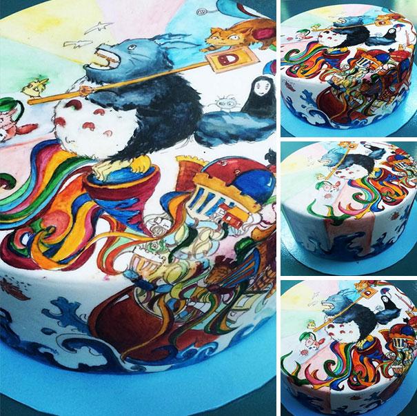 AD-Totoro-Cake-Food-Art-09