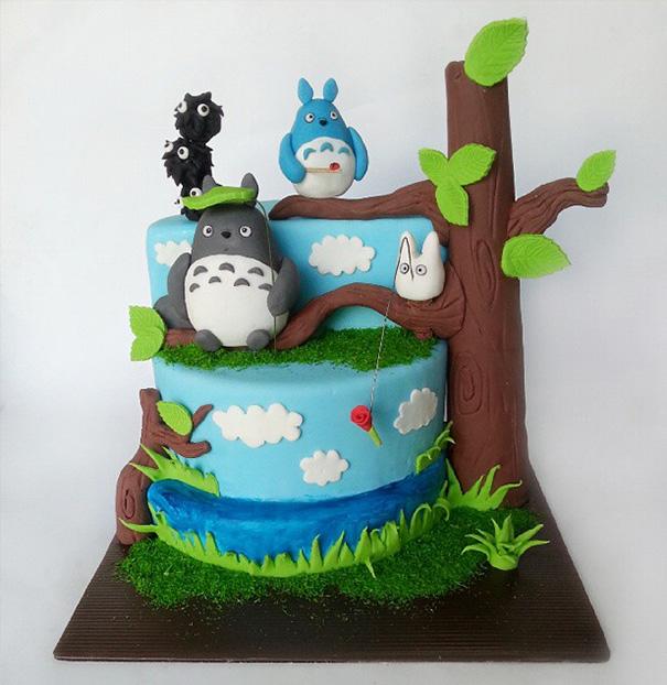 AD-Totoro-Cake-Food-Art-14