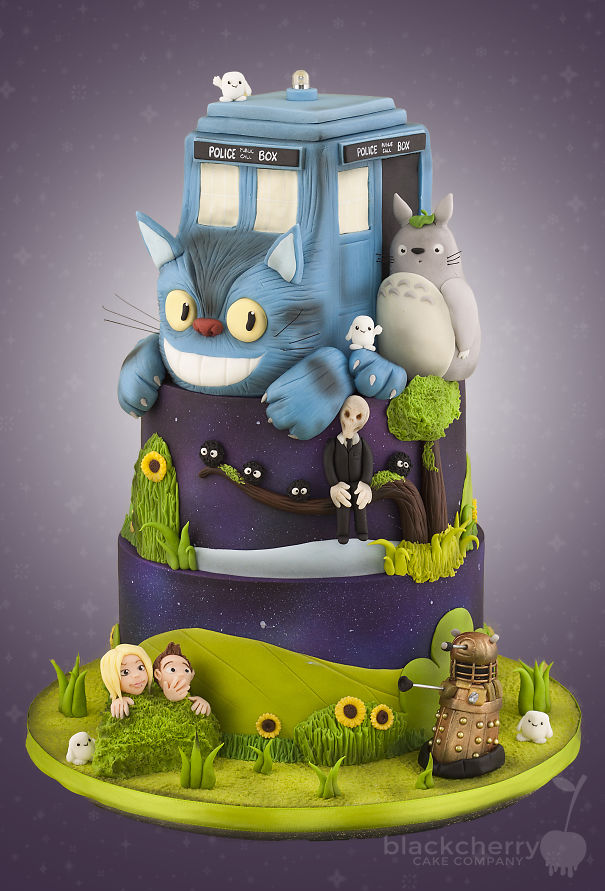 40 Totoro Cakes That Are Too Cute To Eat