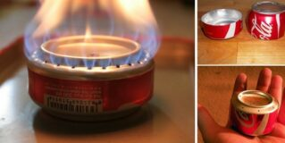 How To Build A Coke Can Stove For Hiking & Camping