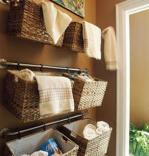 AD Creative Bathroom Towel Storage Ideas 01