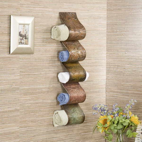 AD Creative Bathroom Towel Storage Ideas 06. 20  Creative Bathroom Towel Storage Ideas