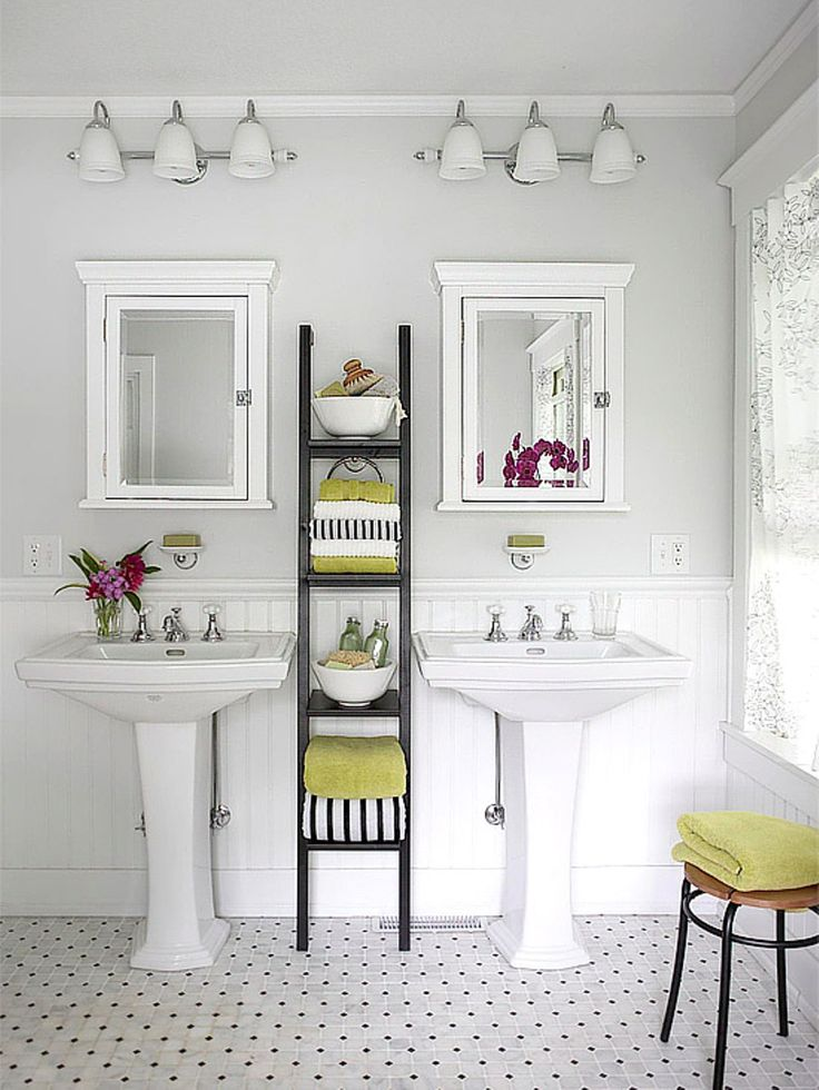 20 creative bathroom towel storage ideas for Bathroom shelving ideas for small spaces