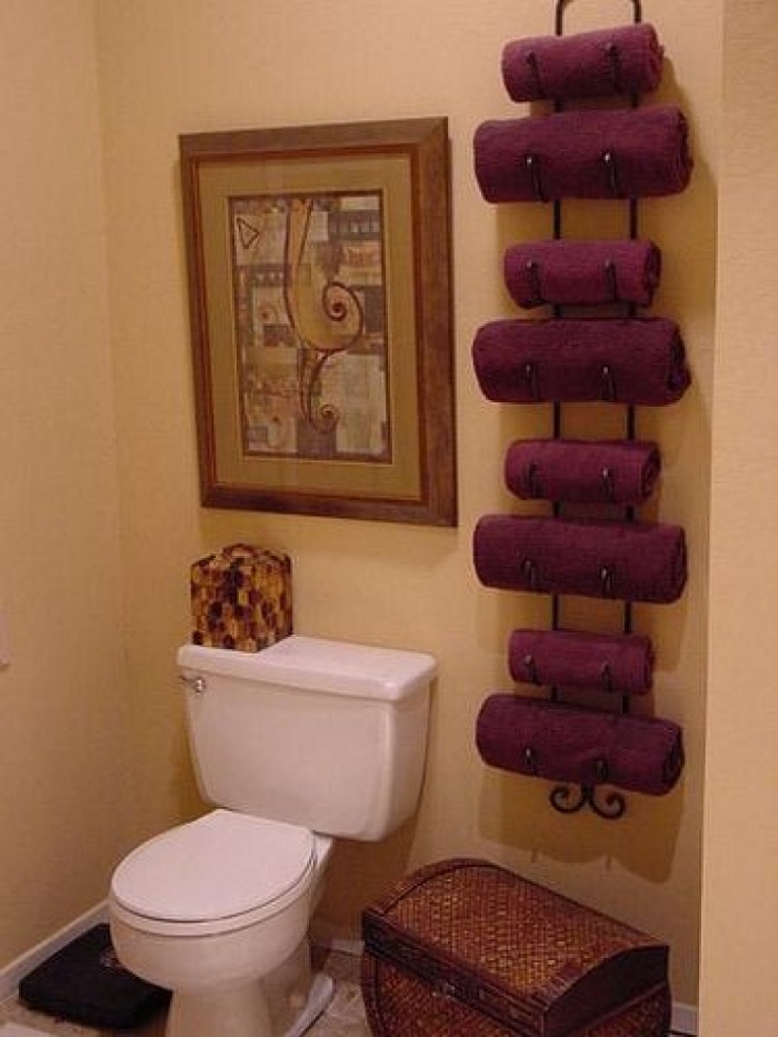 diy towel storage. AD-Creative-DIY-Storage-Hacks-10 Diy Towel Storage O
