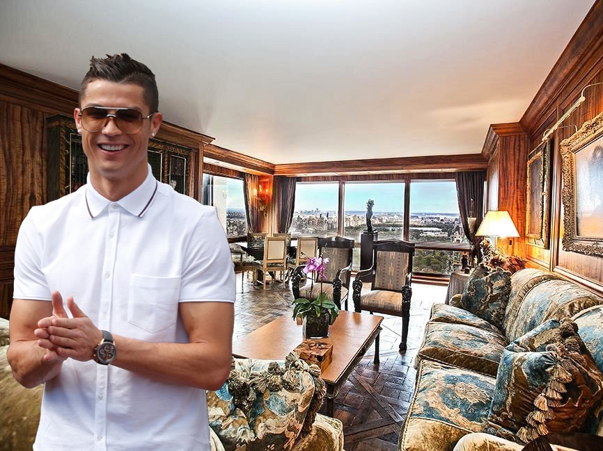 AD-Cristiano-Ronaldo's-$18.5-Million-Apartment-In-Trump-Tower-10