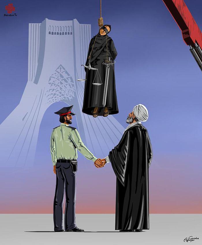 AD-Femidead-Satirical-Illustrations-by-Gunduz-Agayev-03