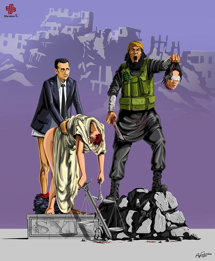 AD-Femidead-Satirical-Illustrations-by-Gunduz-Agayev-07