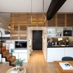 A Clever Hotel Room 'Loft' Designed For Longer Stays