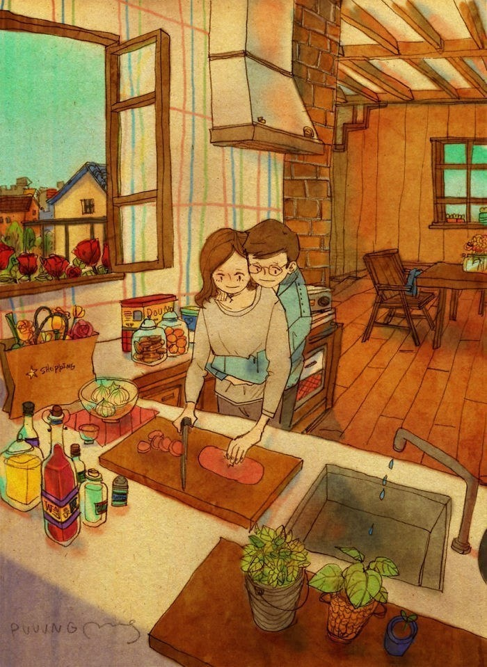 AD-Korean-Artisit-Illustrates-What-Real-Love-Looks-Like-10
